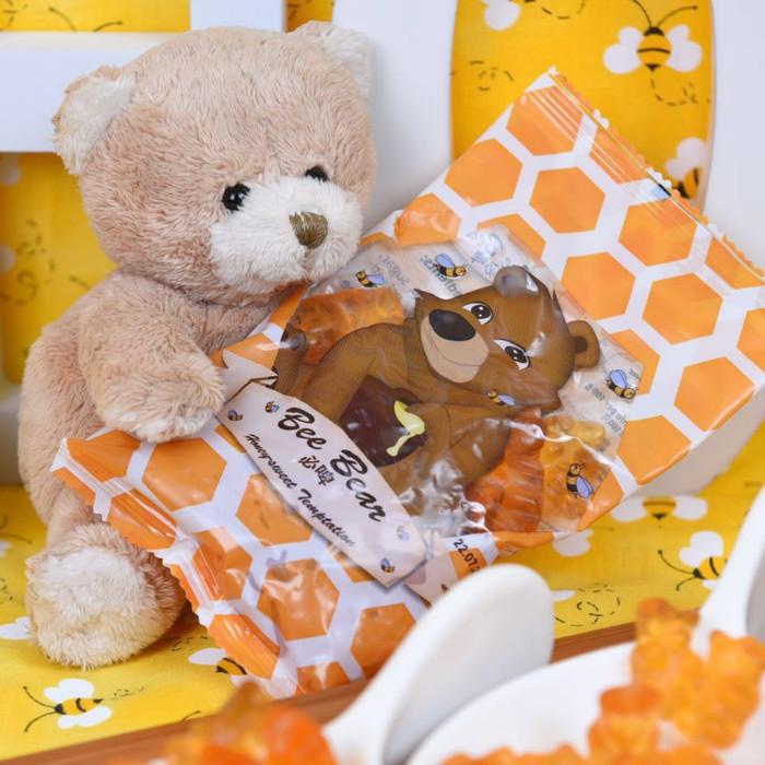 Bee Bears Honey Gummy Bears Hexapi Honey 100g 9000115 OL 34